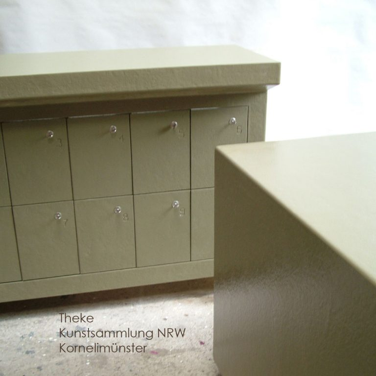 Kunstsammlung Polyester NRW Theke