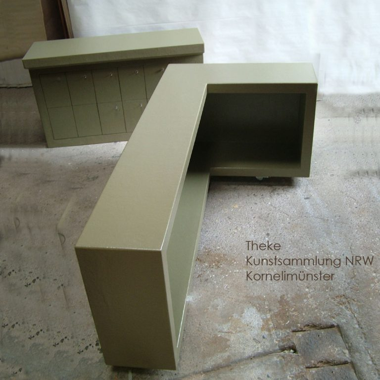 Kunstsammlung NRW Polyester Thekee