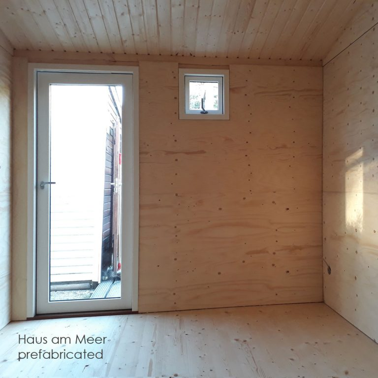 Tiny house Holzbau Holland prefabricated Bausatz prefabricado