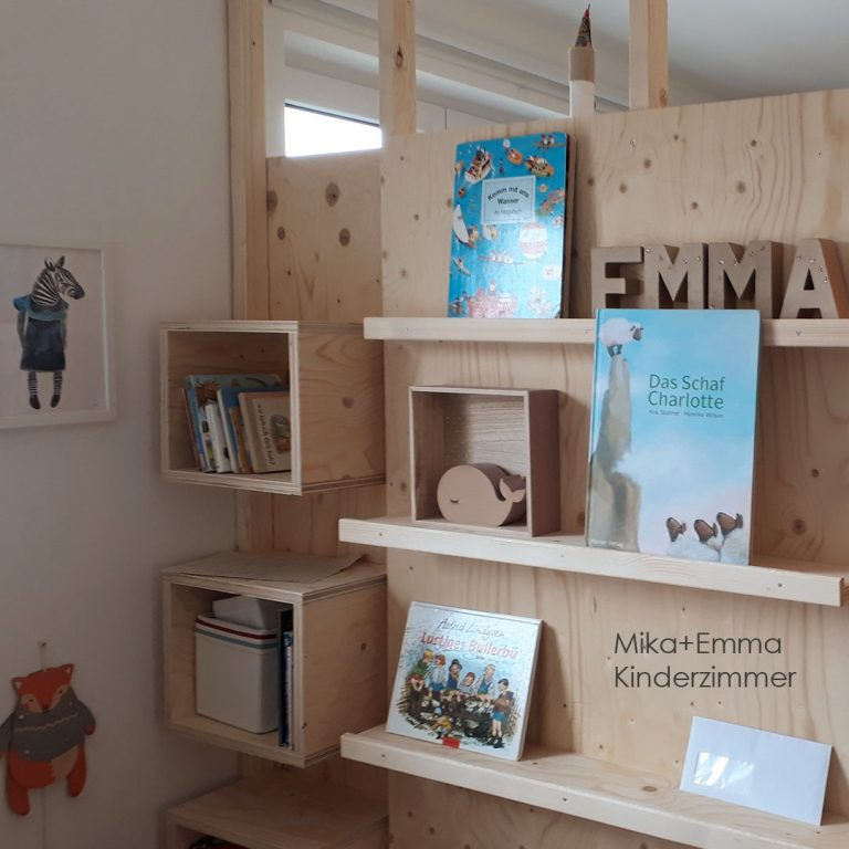 Tiny house Kinderzimmer 2. Etage spielen