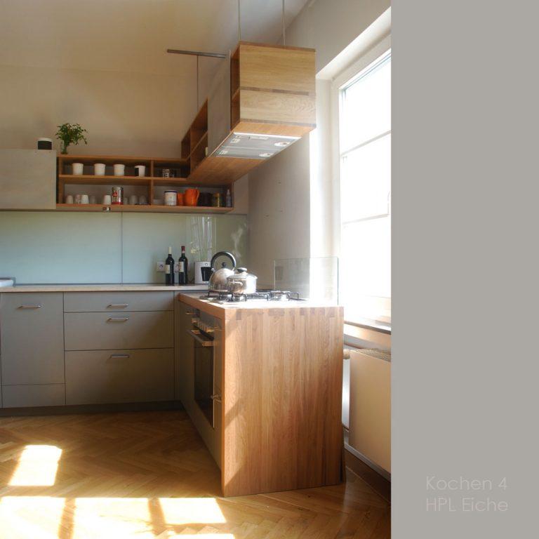 Küche Herd Arbeitsplatte Massivholzküche schöne Fronten