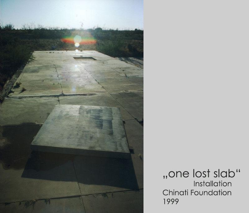 one lost slab
